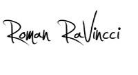 Roman RaVincci podpis